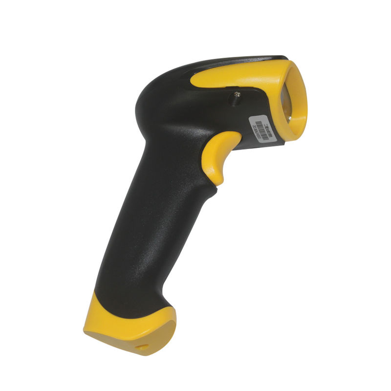 2D Long Distance Wireless Handheld Barcode Scanner IP54 360° Scanning Angle