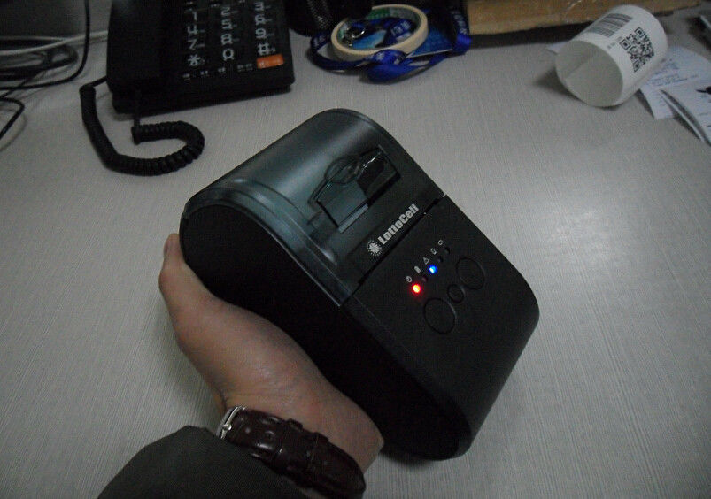 Big Paper Bucket Wireless Bluetooth Label Printer ,  Smart Cell Phone Printer Module